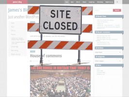 site closed